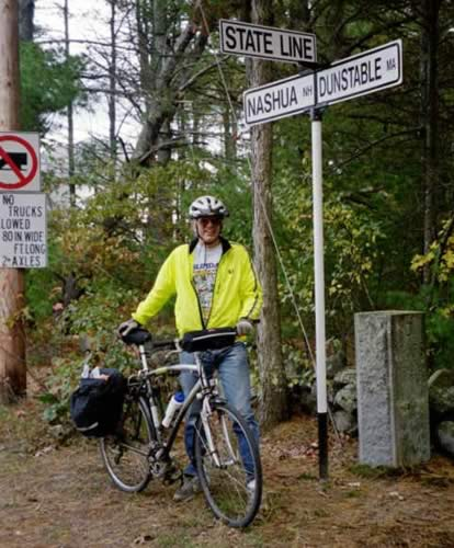 Doug Mink on the Nashua River Rail Trail